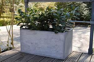 Blumenkübel Als Raumteiler : pflanzk bel blumenk bel maxi 100 aus fiberglas beton design ~ Michelbontemps.com Haus und Dekorationen