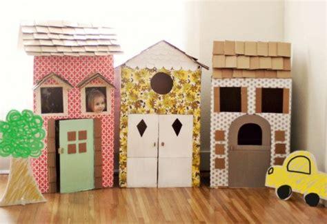 Como hacer casitas de cartón para los niños   DecoPeques