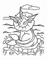 Pokemon Coloring Pages Grass Printable Starters Getcolorings sketch template