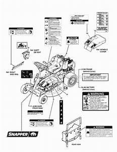 Snapper 2812524bve Parts List And Diagram