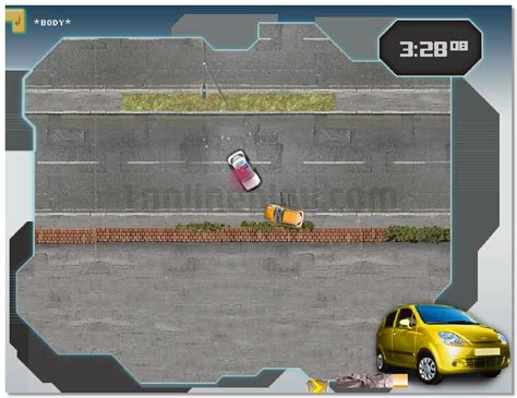 Transformers Energon Crisis Top-view City Racing Game With