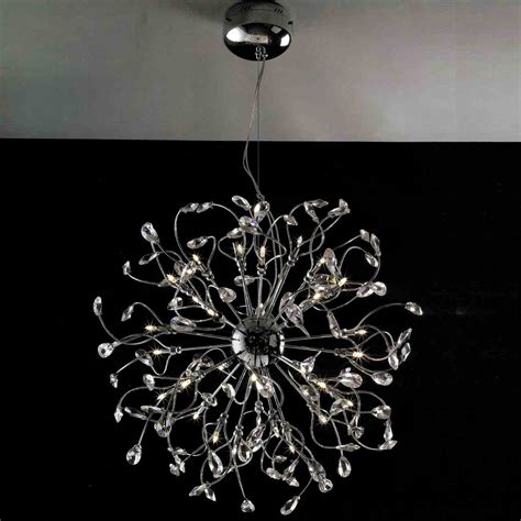 Modern Chrome Chandelier by Brizzo Lighting Stores 30 Quot Tempesta Modern