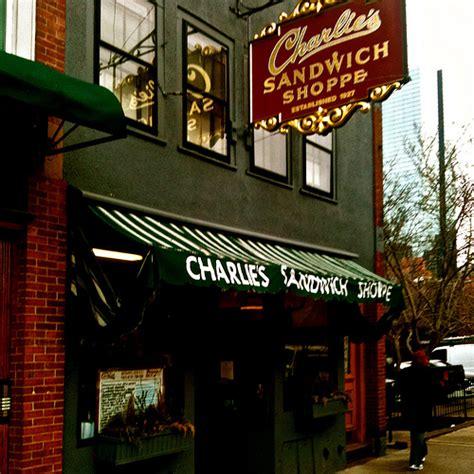 Charlies Sandwich Shoppe  Picture Massachusetts