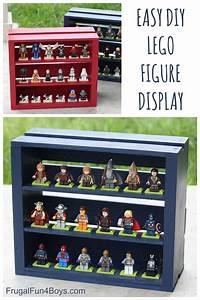Lego Aufbewahrung Ideen : diy wooden crate lego minifigure display basteln werkeln pinterest kinderzimmer lego und ~ Orissabook.com Haus und Dekorationen