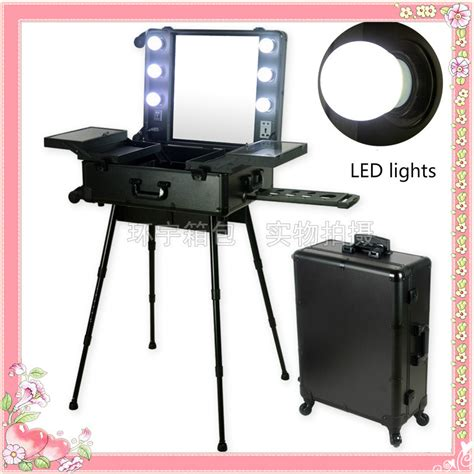 professional makeup vanity with lights led white lights with universal wheels professional makeup