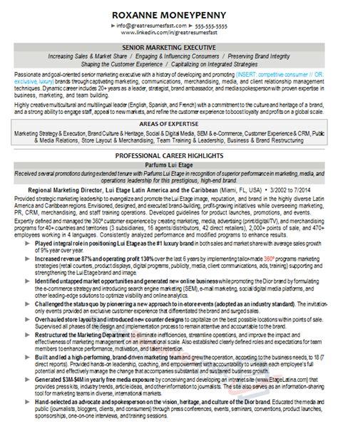 image result for resume executive vice president resumes