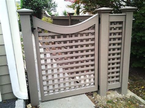 grey wood lattice scalloped gate wood fence pinterest grey grey wood  woods
