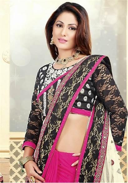 Hina Khan Actress Saree Wallpapers Heena Sarees
