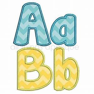 happy applique alphabet 26 letters upper and lower 3 With applique letters for quilting
