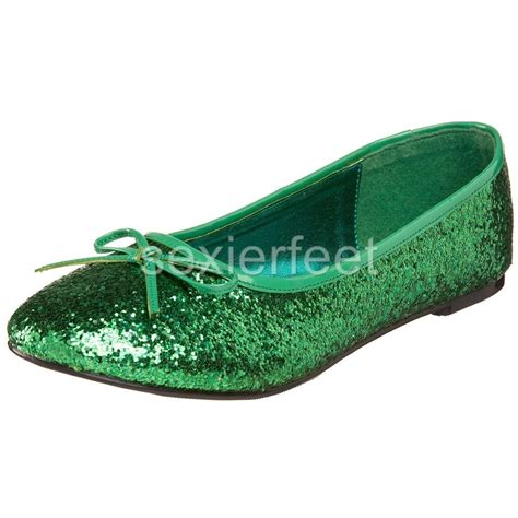 pleaser womens glitter flats shoes starg