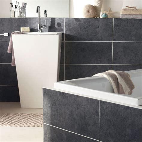 plaque credence cuisine carrelage adhésif salle de bain castorama