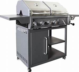 Gas Kohle Grill Kombination : tepro garten buffalo kohle gas kombi grill 4 brenner ~ Watch28wear.com Haus und Dekorationen