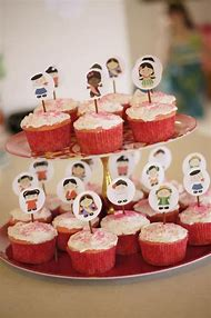 Disney Baby Shower Cupcakes