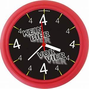 Uhr Kein Bier Vor Vier : lucky clocks wanduhren personalisierte geschenke f r ~ Whattoseeinmadrid.com Haus und Dekorationen