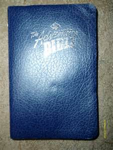 Leather Bound NIV Bible