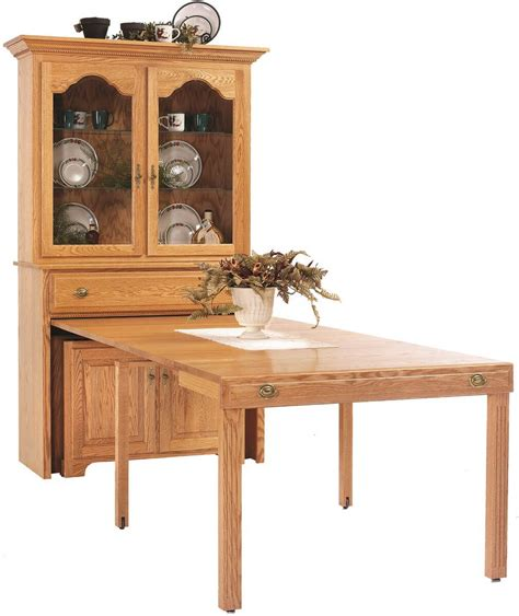flintt pullout console table  hutch countryside