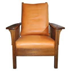 l jg stickley mission reclining morris chair at 1stdibs