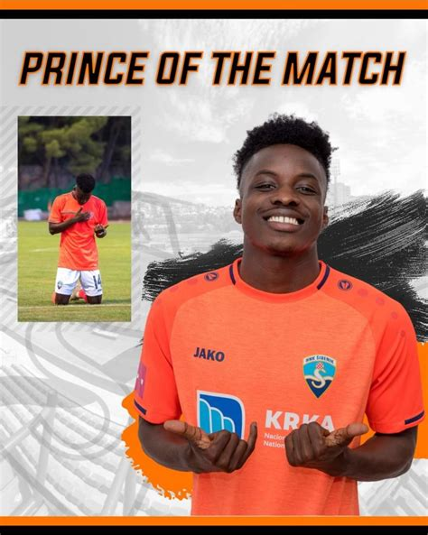 Talisman Prince Obeng Ampem wins Man of the Match award in ...