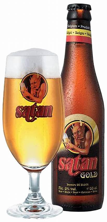 Satan Beer Gulden Bottled Domů Male Lahve