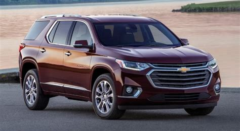 2018 Chevrolet Traverse Pricing And Specs