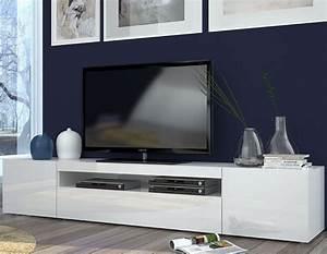 Meuble Tv Blanc Laqué : javascript est d sactiv dans votre navigateur ~ Teatrodelosmanantiales.com Idées de Décoration