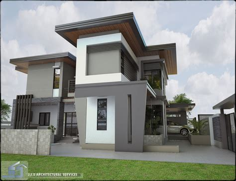 Home Design : 2 Storey Residential House