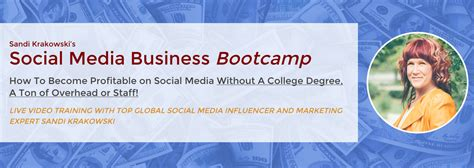 social media marketing degree current products and classes