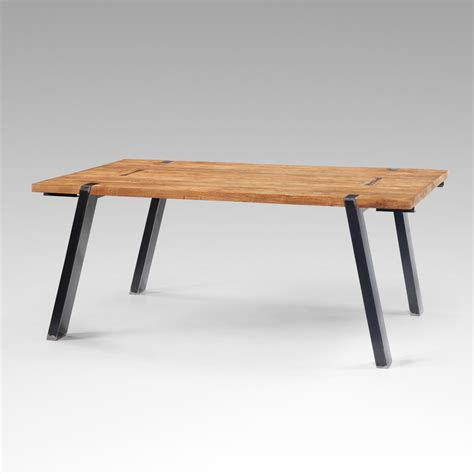 table design extensible salle a manger table salle a manger extensible teck table industrielle pacitan