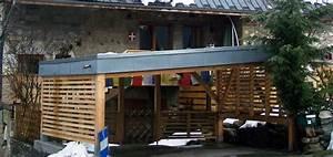 Abri De Terrasse En Bois : abri voiture 1238 thoiry 73 savoie abris ~ Dailycaller-alerts.com Idées de Décoration