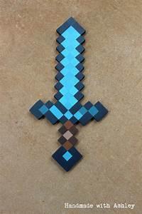 DIY Minecraft Sword (Wooden Sword Tutorial | Minecraft ...