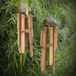 Fabriquer Un Carillon : carillons en bambou bambou pinterest carillon bambou et jardins ~ Melissatoandfro.com Idées de Décoration