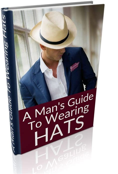 mans guide  wearing hats   book