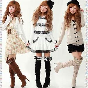 Kawaii clothes   love!!   Outfits(pretty cloth things!!)   Pinterest   The outfit Boots and Kawaii