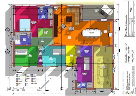 maison plain pied 4 chambres plans maisons tout pour vos constructions maison et dépendance