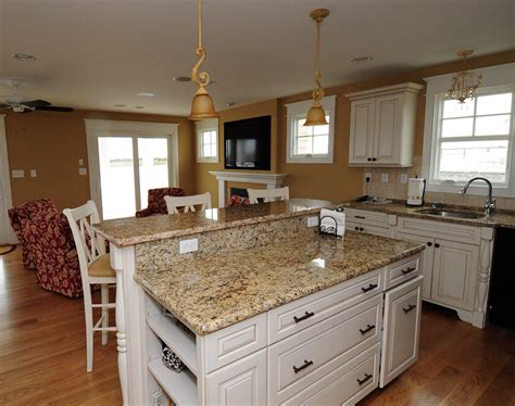 Best Granite Colors For White Cabinets With Tv On Wall