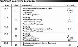 Abrechnung Privatpatienten Goä : abrechnung nach bema und goz so vermeiden sie h ufige abrechnungsfehler teil 1 ~ Themetempest.com Abrechnung
