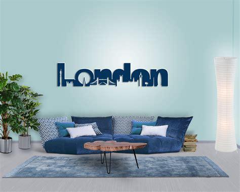 Wanddeko London Skyline  Modern, Originell & Zeitlos
