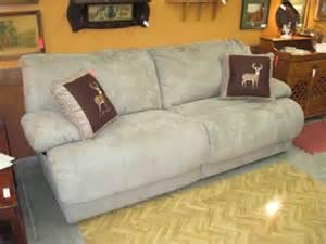 Wall Hugger Double Recliner Sofa