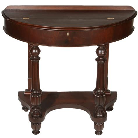 half circle side table half circle end table home design ideas and pictures