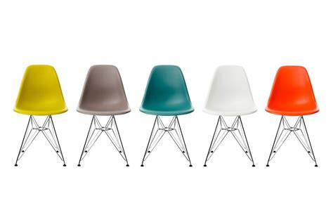 vitra eames plastic side chair dsr by charles eames