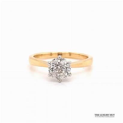 Diamond Ring Engagement 18ct 92ct Solitaire Luxury