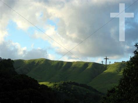 crosses  hillside cross backgrounds