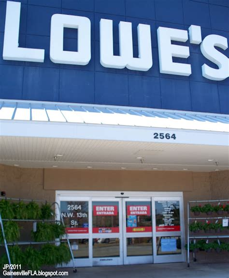 lowes flooring department number gainesville florida alachua university restaurant dr hospital attorney church gator fire dept