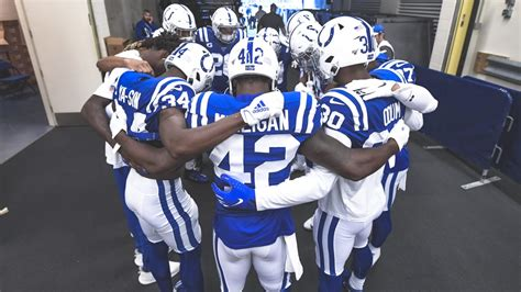 indianapolis colts  unrestricted