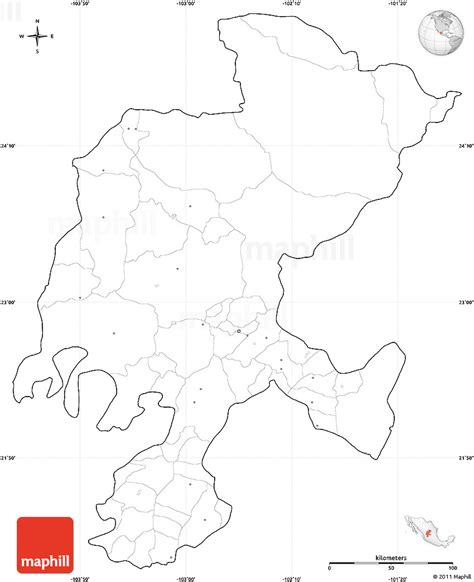 blank simple map  zacatecas cropped   labels