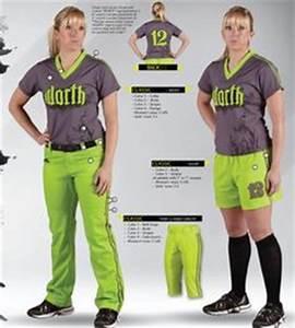 Image Gallery neon green softball uniforms