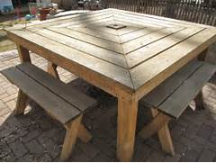Make Outdoor Wood Table by Build Your Own Wood Patio Table New Woodworking Style