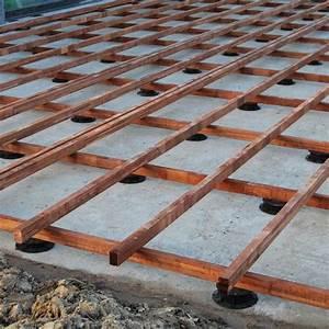 Plot Plastique Terrasse : terrasse bois sur plot beton latest dalle bois en ~ Edinachiropracticcenter.com Idées de Décoration