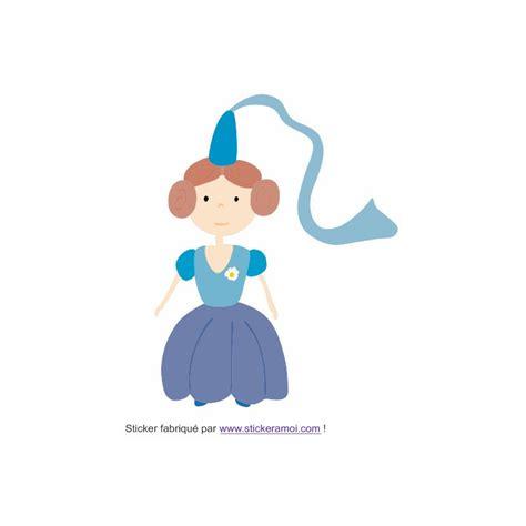 autocollant chambre fille sticker princesse princesse ariel déco chambre fille