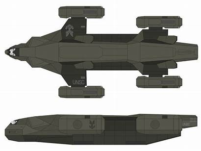 Osprey Deviantart Halo Unsc Spaceship Class Transport